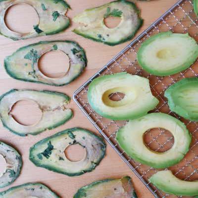 Picture of sliced avocados