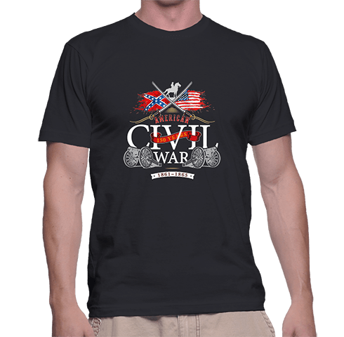 Civil War Swords - T-Shirt