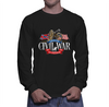 American Civil War Cannon - Long Sleeve