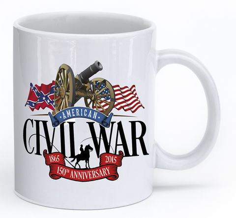 American Civil War Cannon - Mug