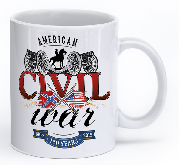 Civil War Swords and Cavalry - Mug
