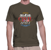 Civil War Swords and Cavalry - T-Shirt