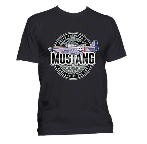 North American P-51 Mustang - T-Shirt