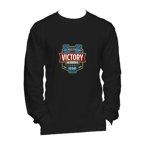 70th Anniversary VE Day - Long Sleeve