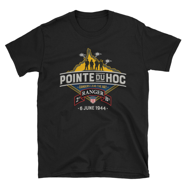 D-Day Pointe-Du-Hoc - T-Shirt