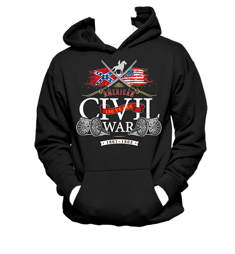 American Civil War Swords - Hoodie