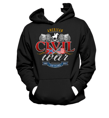 Civil War Swords and Cavalry- Hoodie