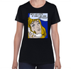 "Vintage ""Crying Girl"" Ladies T-Shirt"