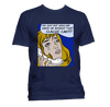 "Vintage ""Crying Girl"" Classic Car - T-Shirt"