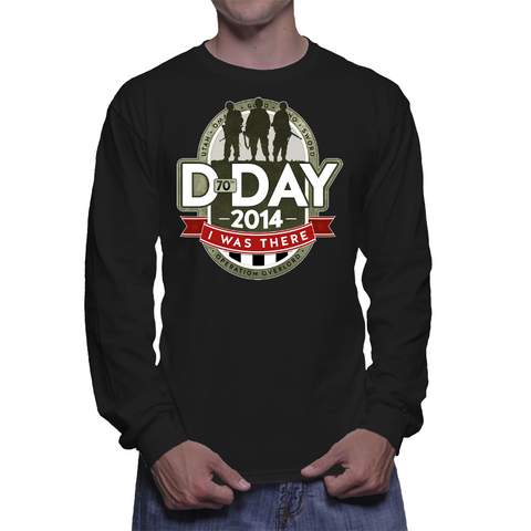 D-Day I Was There Long Sleeve