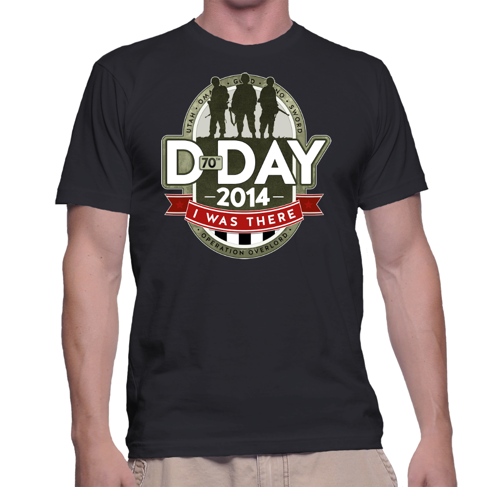 D-Day I Was There T-Shirt