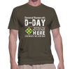 4th Infantry Utah Beach D-Day - T-Shirt