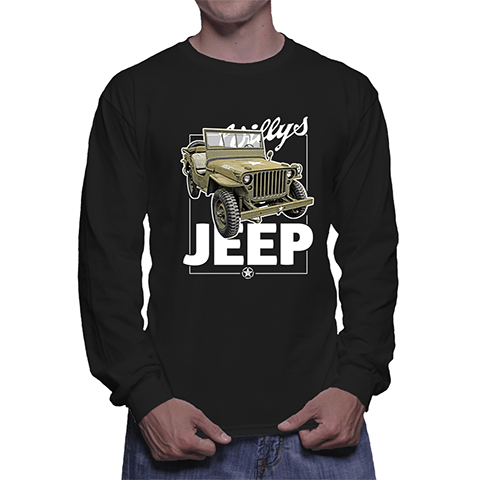 Jeep - Long Sleeve (Black)