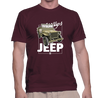 Jeep - T-Shirt (Maroon)