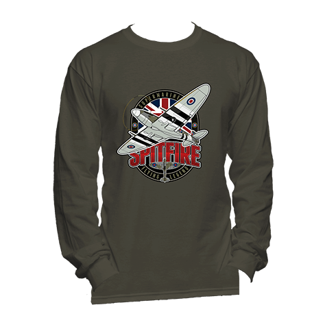 Supermarine Spitfire Long Sleeve