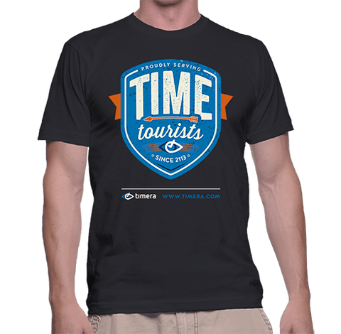 "Timera ""Time Tourists"" Badge T-Shirt"
