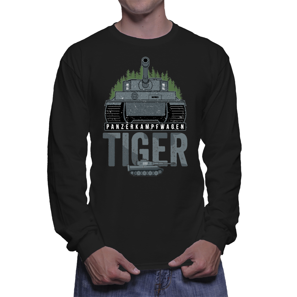 Tiger Tank Forest Long Sleeve
