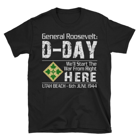 D-Day Utah Beach - T-Shirt