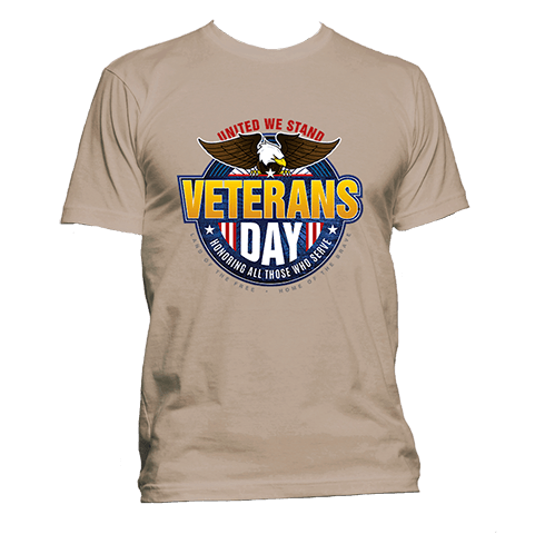 United We Stand - Veterans Day - T-Shirt – War History Online Store 6d9f99356