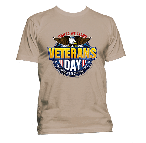 United We Stand - Veterans Day - T-Shirt