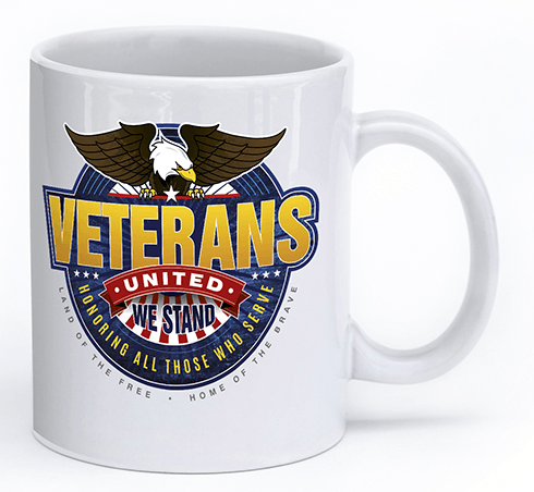 Veterans - United We Stand - Mug