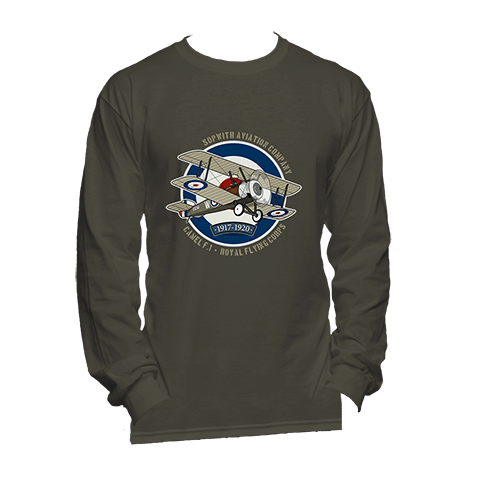 WWI Sopwith Camel - Long Sleeve