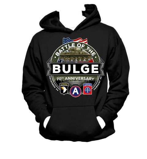 Battle of the Bulge 70th Anniversary - Hoodie
