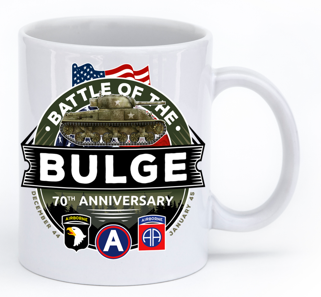 Battle of the Bulge 70th Anniversary Mug