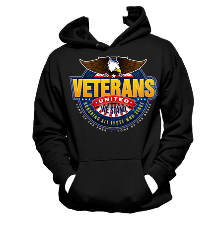 Veterans - United We Stand - Hoodie