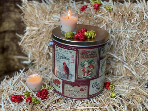 Christmas Cards Tin! ( 1 Gallon )