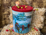 Fresh Christmas Snow Tin! ( 3 1/2 Gallon ) OUT OF STOCK!!