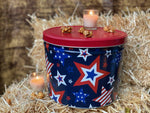 Stars & Stripes Tin! ( 2 Gallon )