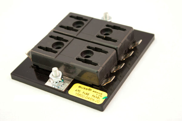 Part # 15602-04/04-20  (Bussmann Fuse Block for ATOF/ATC Fuses or Blade Type Circuit Breakers. Maximum Current Rating For All Circuits is 200 Amps)