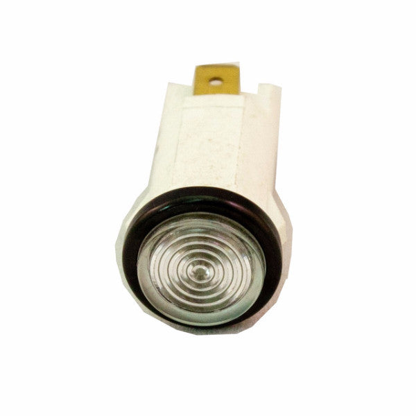 "Part # IL500-C  (.500"" D. Clear, 14V Incandescent, 3/16"" Tabs)"
