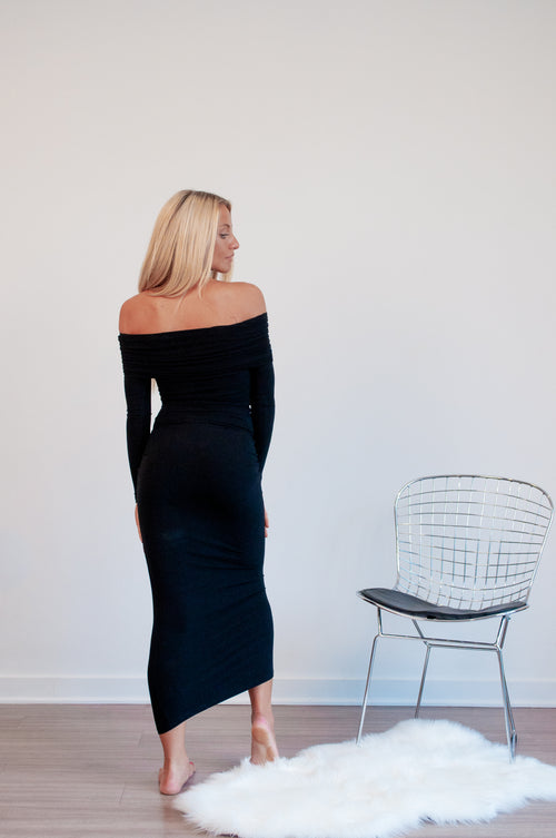 Ella Off Shoulder Bodycon