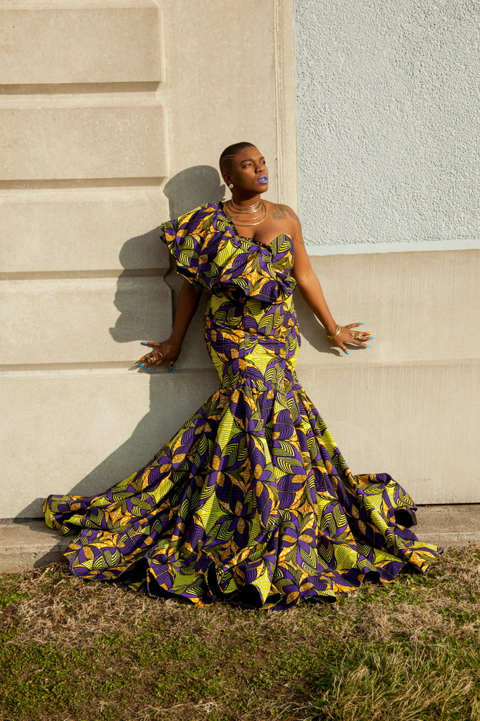 The OMI gown - TRIBE 228