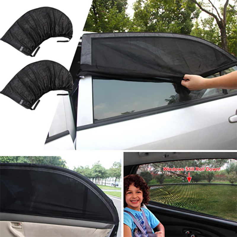 (50% OFF)Universal Car Window Sun Shade Curtain