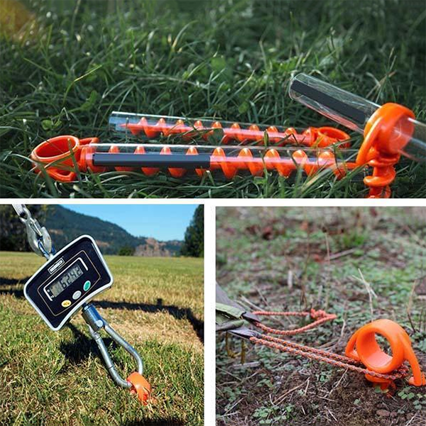 (50% OFF) Tent Screw Ground Anchors