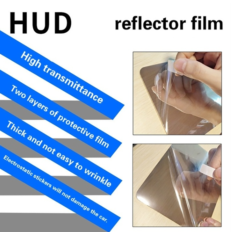 Clear Reflective HUD Film