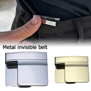 Lazy Portable Folding Belt Buckle