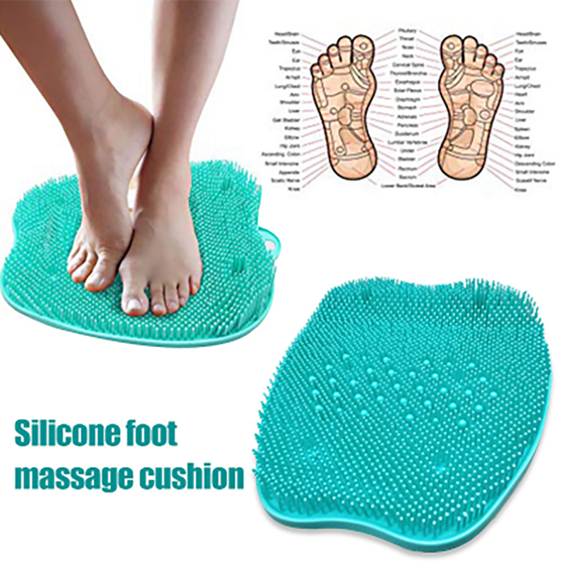 Foot Scrubber Massager Pad Shower Foot Brush