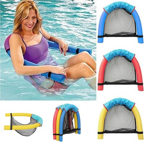 Polyester Floating Pool Noodle Sling Mesh Chair