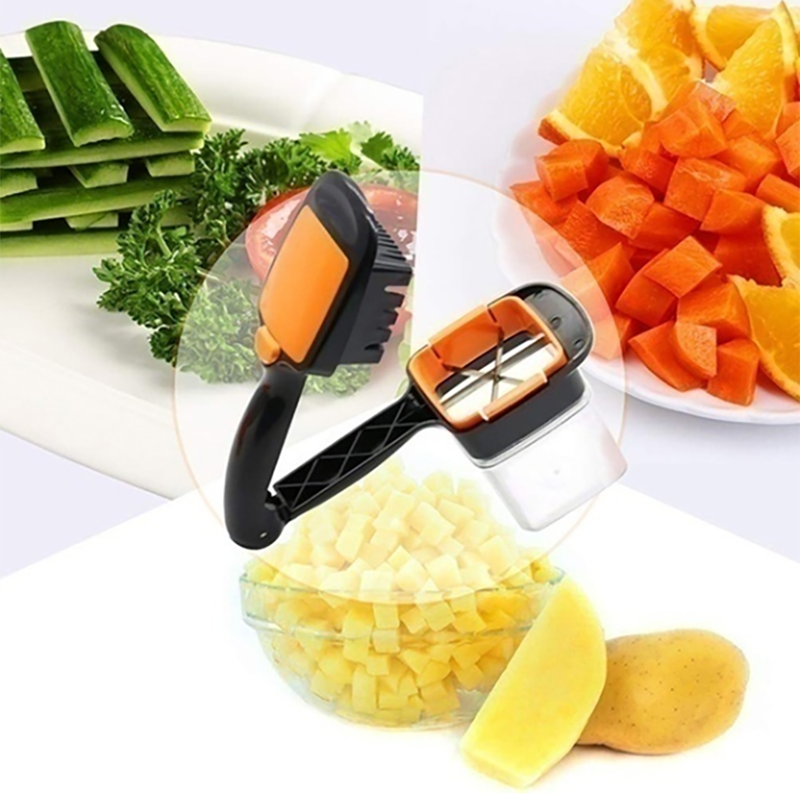 5 In 1 Vegetable Cutter Multifunctional Quick Cutter