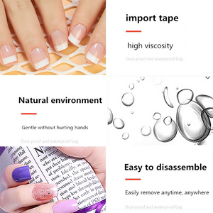 Transparent Nail  Adhesive Glue Sticker