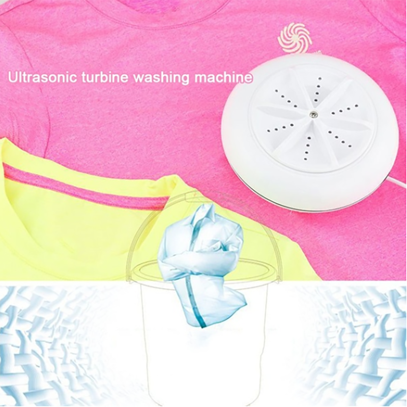 Mini Washing Portable Ultrasonic Turbine