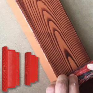 Imitation Wood Graining Pattern Tool(2PCS/SET)