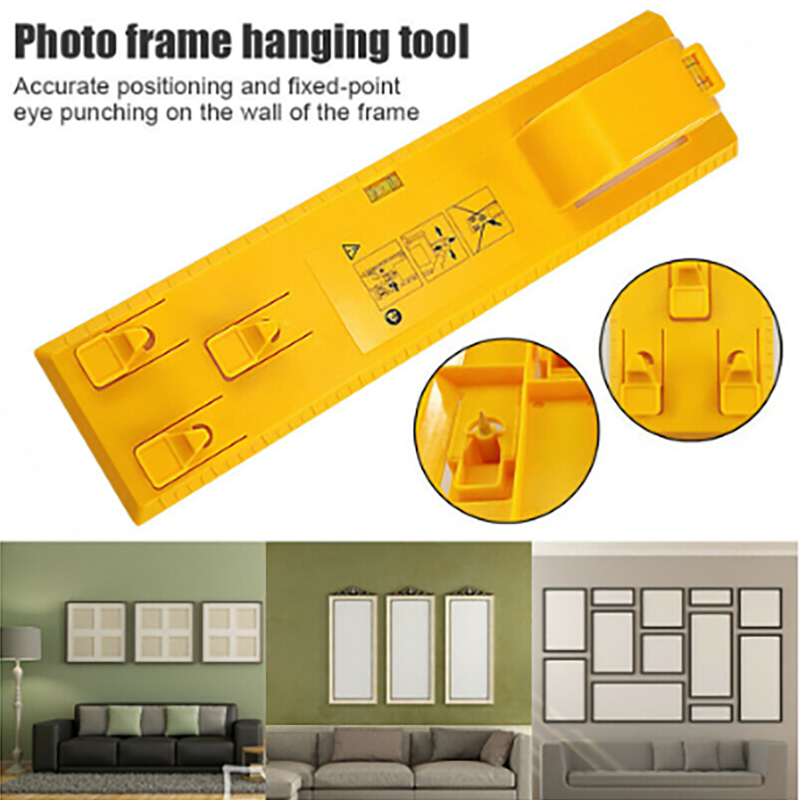 Photo Frame Ruler Spirit Level