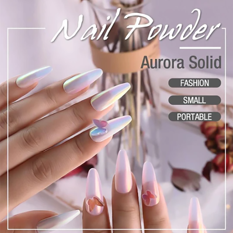 Aurora Solid Nail Powder
