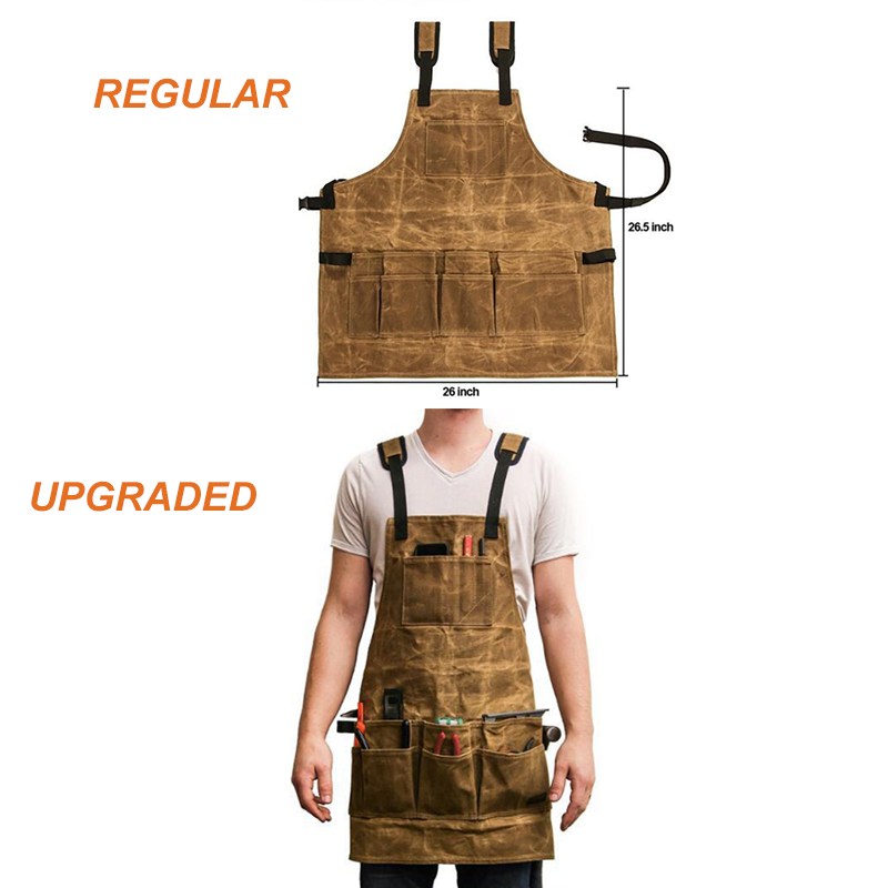Apron Collector Multiple Pockets Tools Storage Apron