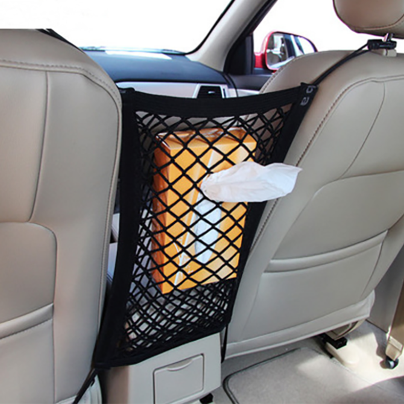 Car Seat Grid Side Storage Mesh Net Pouch Bag